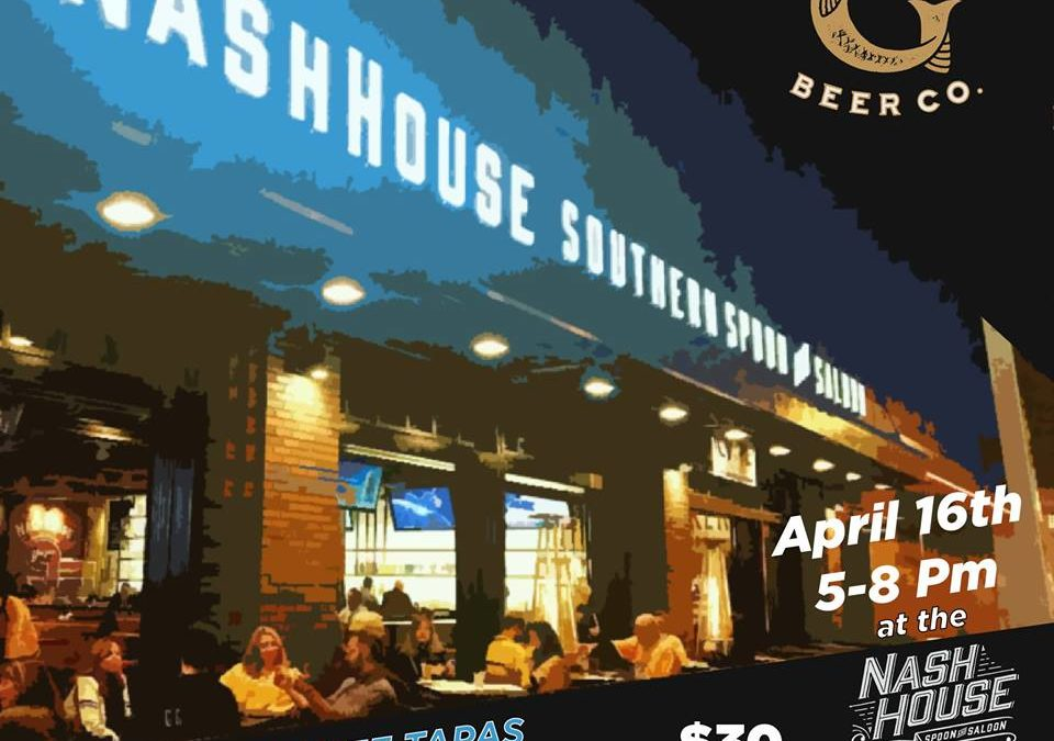 NashHouse & Garr's Beer Pairing of TN Tapas