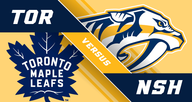 Maple Leafs at Predators